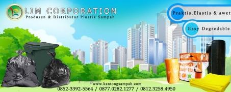 Banner plastik sampah